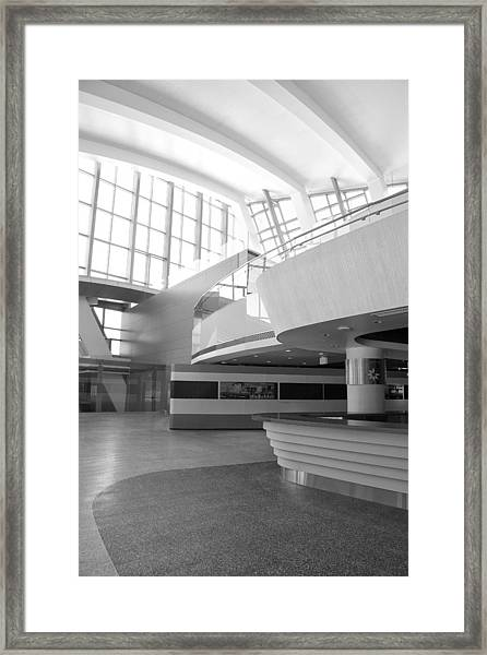 Lax New Terminal North II 2nd Flr Framed Print