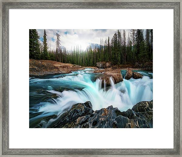 Layers 2 Framed Print