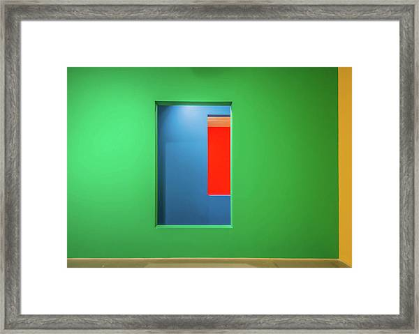Layers Of Colour Framed Print