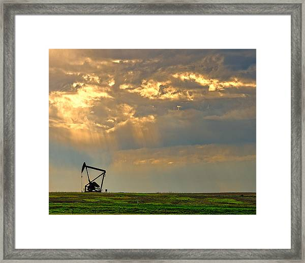 Layers Of Energy Framed Print
