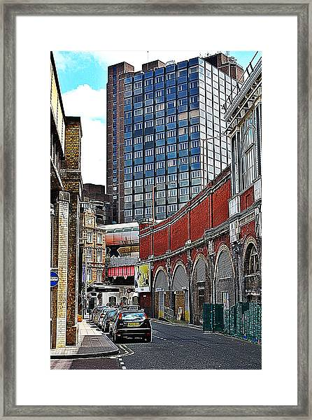 Layers Of London Framed Print