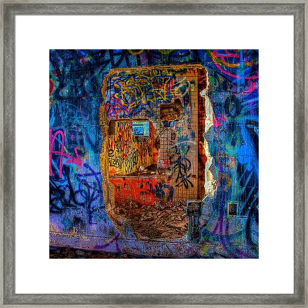 Layers Framed Print by William Wetmore