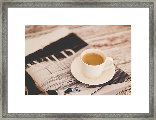 Lazy Saturday Framed Print