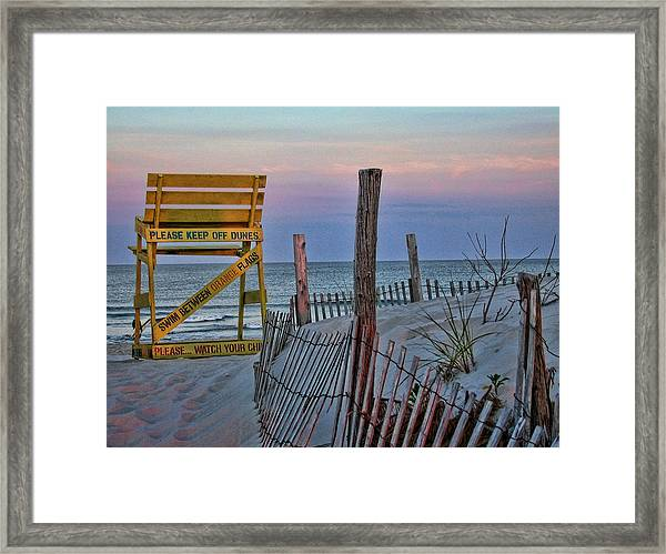 Framed Print featuring the photograph LBI by David Armstrong
