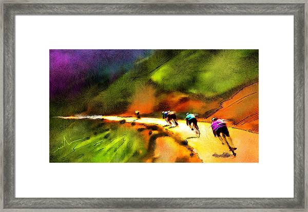Le Tour De France 02 Framed Print