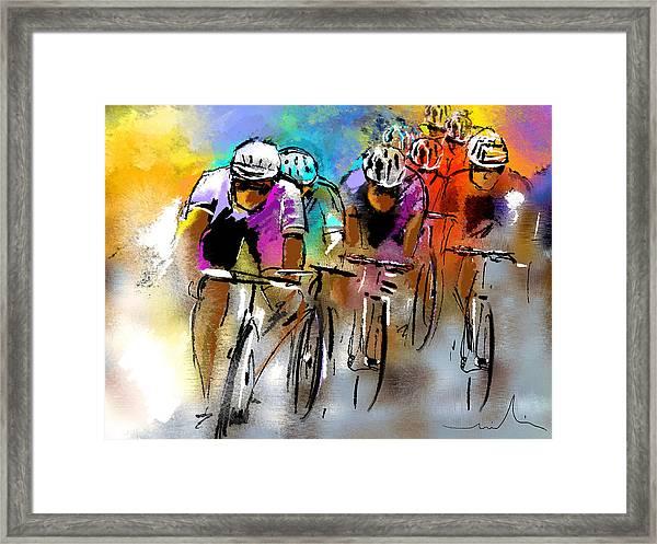 Le Tour De France 03 Framed Print