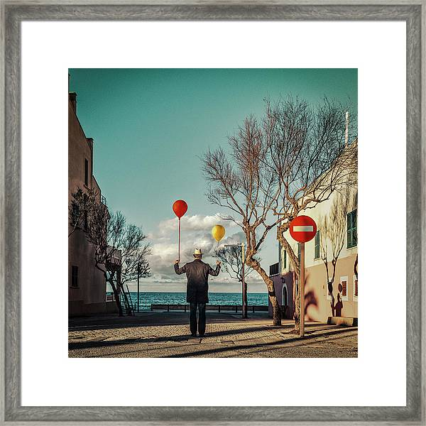 Le Vent Te Portera Framed Print by Ambra