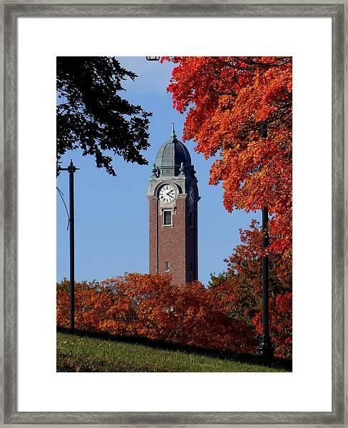 Leavenworth Grant Hall Tower Framed Print