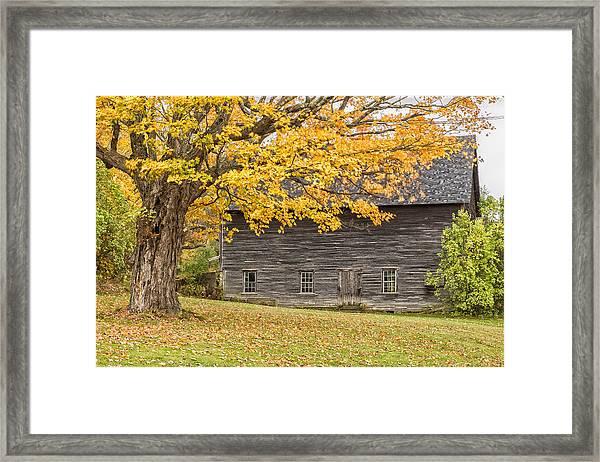 Leavitt's Barn Framed Print