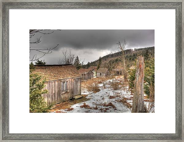 Leconte Lodge, Great Smoky Mountains National Park Framed Print