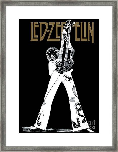 Led Zeppelin No.06 Framed Print