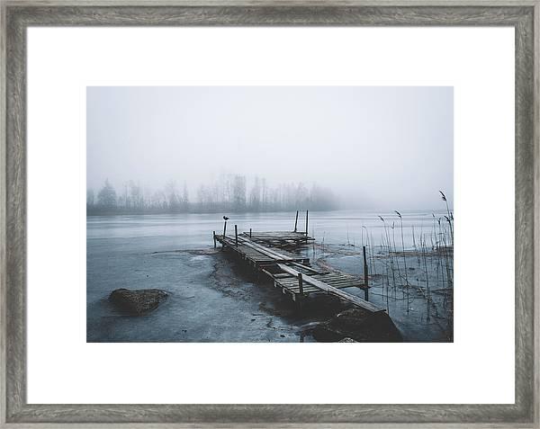 Left For Winter Framed Print