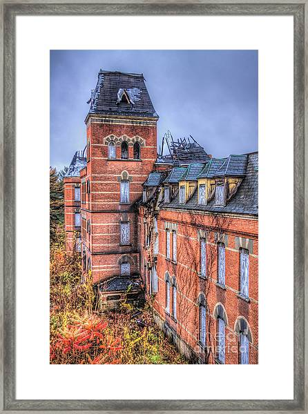 Left Standing  Framed Print