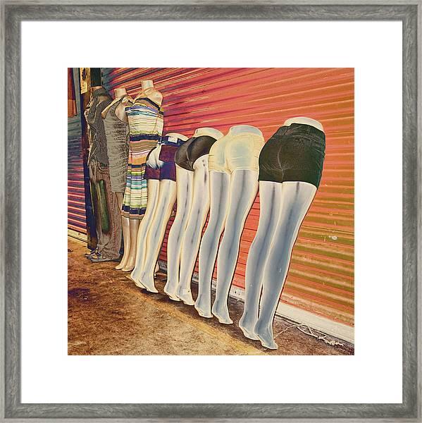 Legs 846a Framed Print