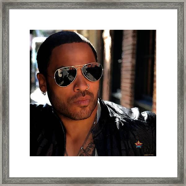 Lenny Kravitz Framed Print