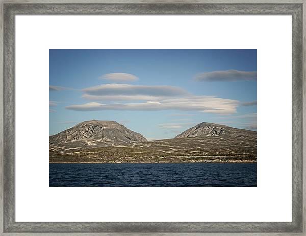 Lenticular Cloud Hangout Framed Print