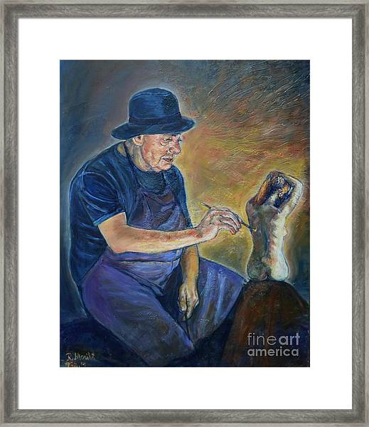 Figurative Painting Framed Print