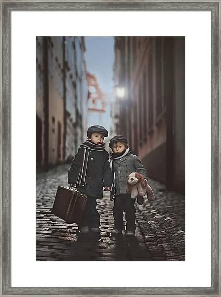 Les Misa?rables Framed Print by Tatyana Tomsickova