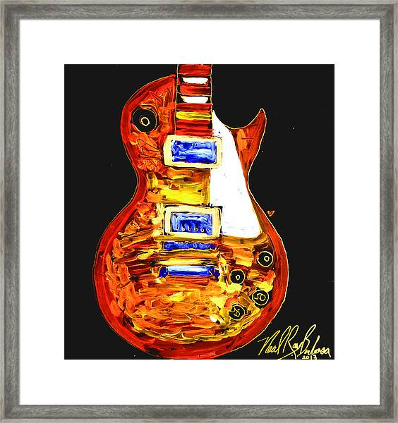 Les Paul 111 Framed Print