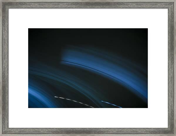 Rolling Sea Framed Print