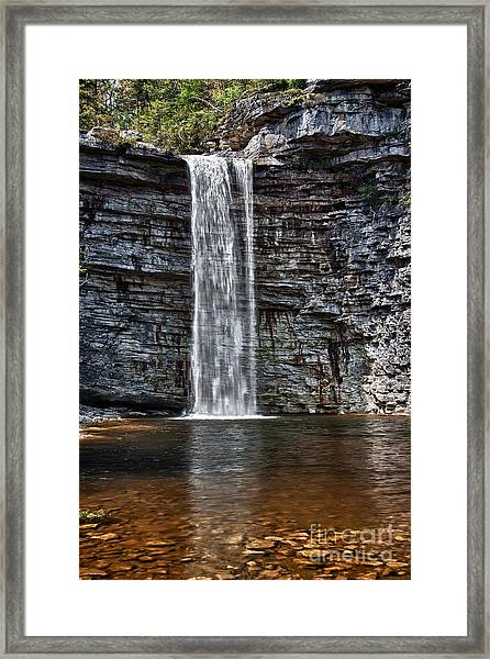 Let It Flow Framed Print
