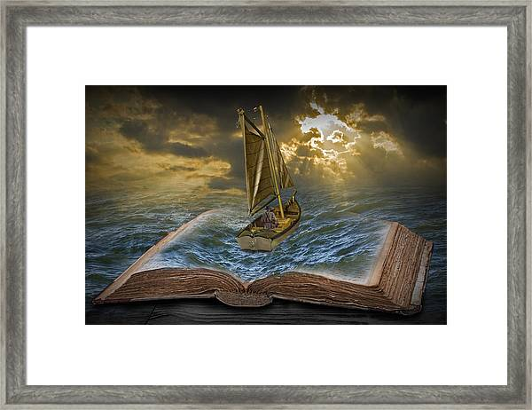 Let The Adventure Begin Framed Print