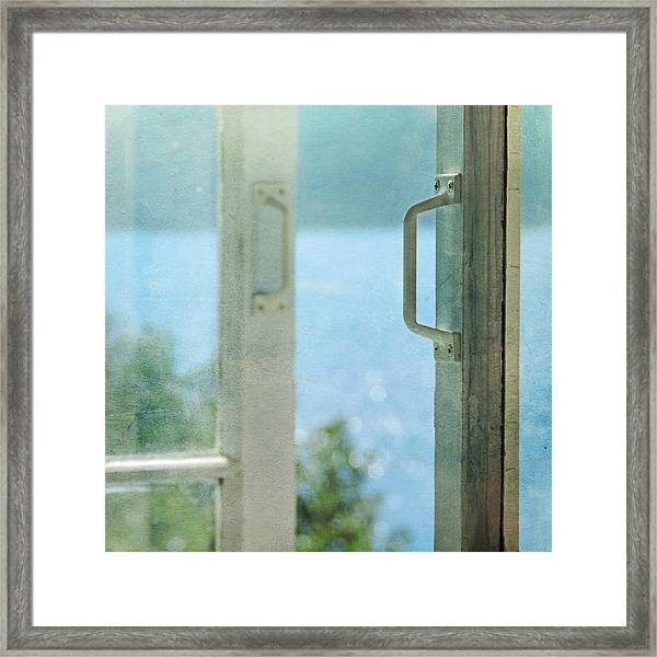 Let The Bokeh In Framed Print