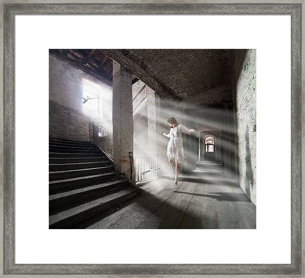 Let The Life Flow In! Framed Print