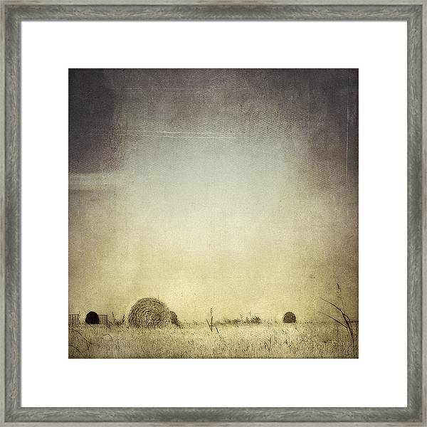 Let The Rain Come Down Framed Print