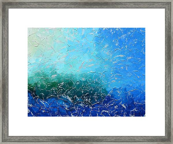 Let The Sea Roar With All Its Fullness Framed Print