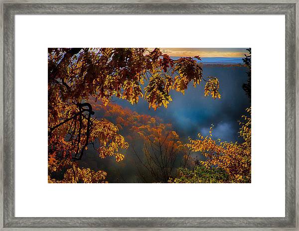 Letchworth 1 Framed Print by Kevin Colton