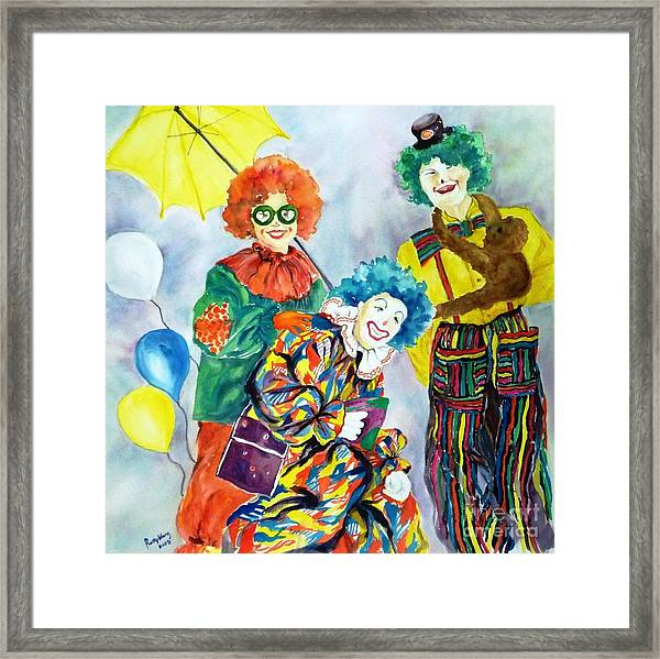 Let's Have Fun Framed Print