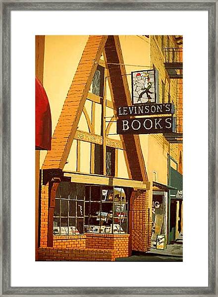 Levinson's Framed Print by Paul Guyer