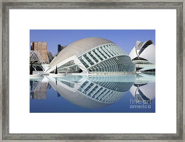 L'hemispheric Valencia Framed Print