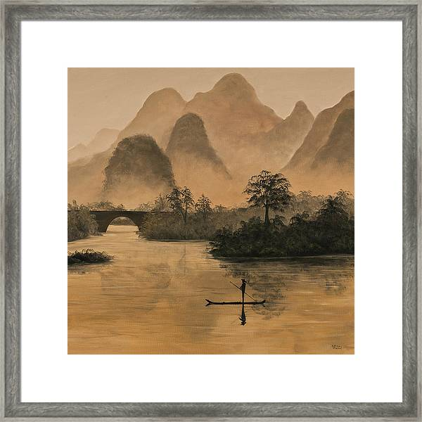 Li River China Framed Print