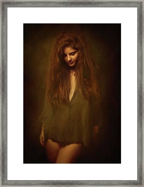 Lia Framed Print
