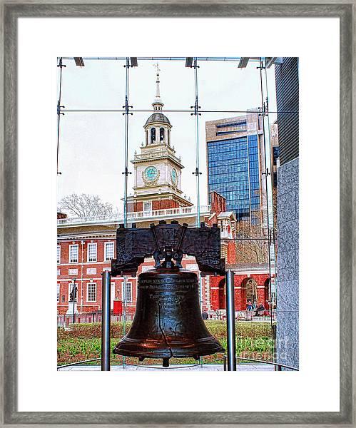 Liberty Bell Framed Print