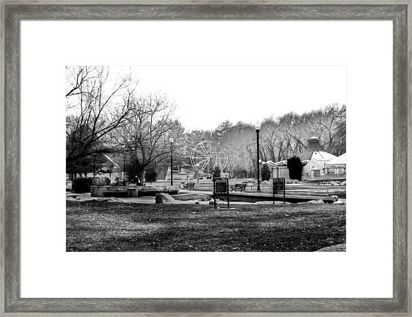 Liberty Park Framed Print