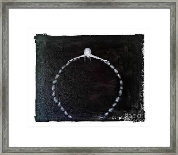 Life Circle Framed Print