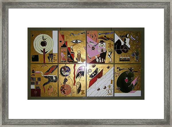 Life Cycle Framed Print