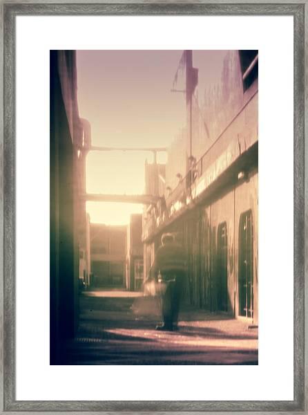 Life Goes On Framed Print