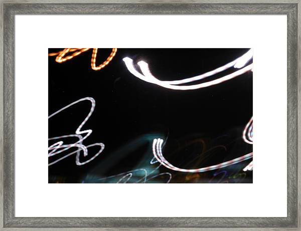 Life In Outer Space Framed Print