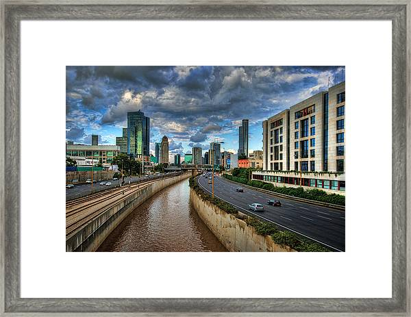 Life In The Fast Lane Framed Print