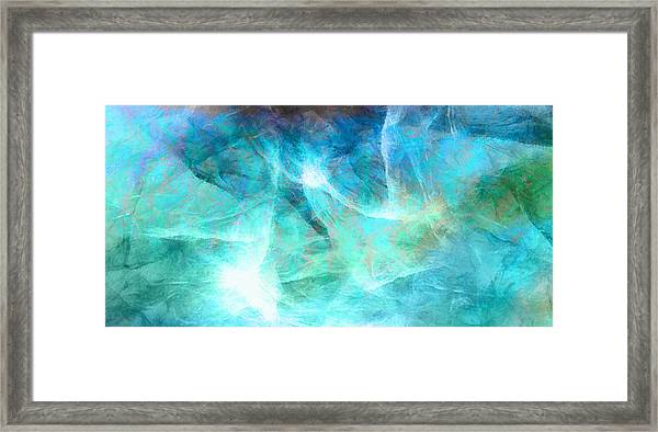 Life Is A Gift - Abstract Art Framed Print