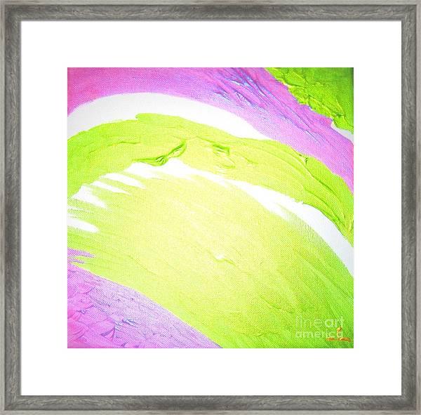 Life Is Love Framed Print
