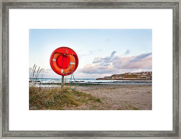 Lifebuoy Framed Print