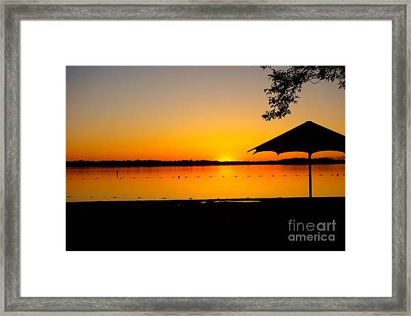 Lifeguard Off Duty Framed Print