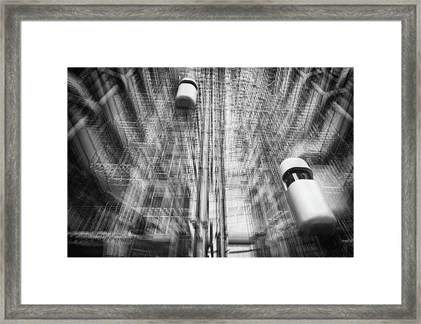 Lift Into The Future Framed Print