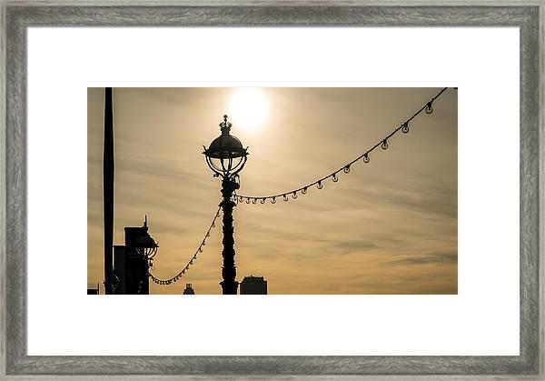 Light And Lights Framed Print
