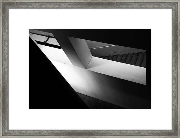 Light And Shadow Play Framed Print by Fernando Alves